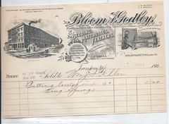 11573  U. S.  Jewish Bloom & Godley Store