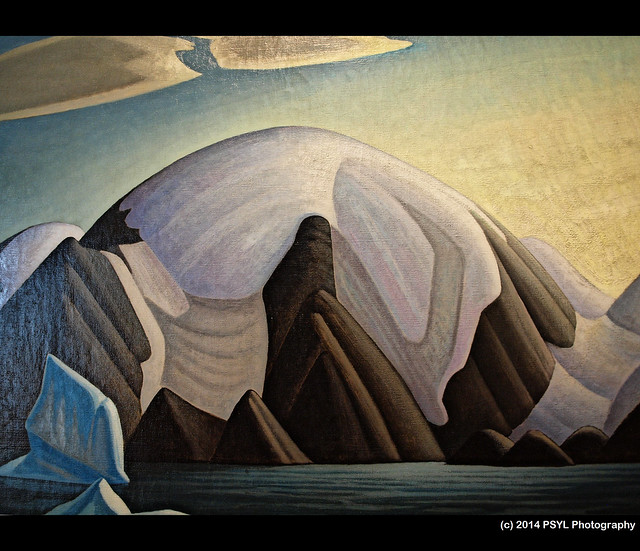 North Shore, Baffin Island II by Lawren S. Harris