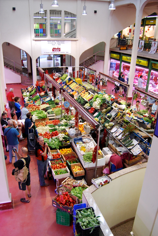 Spanish Indoor Food Market