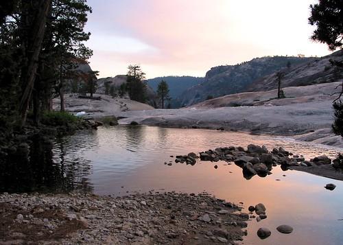 sunset camp creek backpack cherrycreek stanislausnationalforest emigrantwilderness