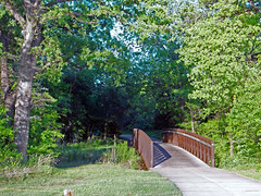 Bridge over Walkers Creek, North Richland Hills