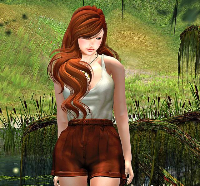 Danni in Paradise #1 (enhanced!)