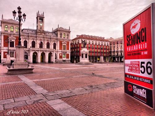 Plaza Mayor de Valladolid al amanecer - Seminci 2011