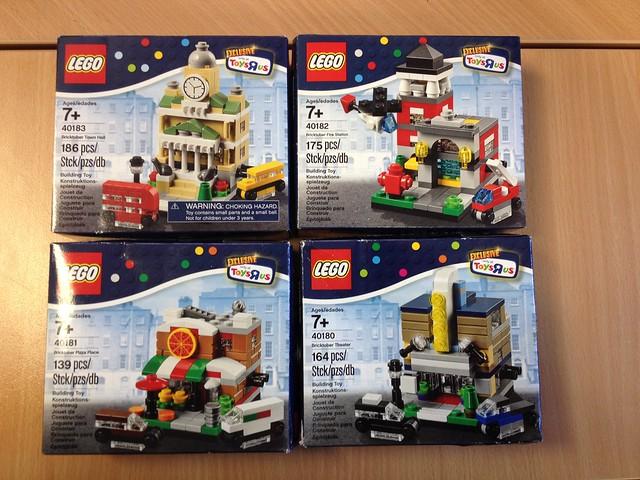 Lego Bricktober Sets 2014