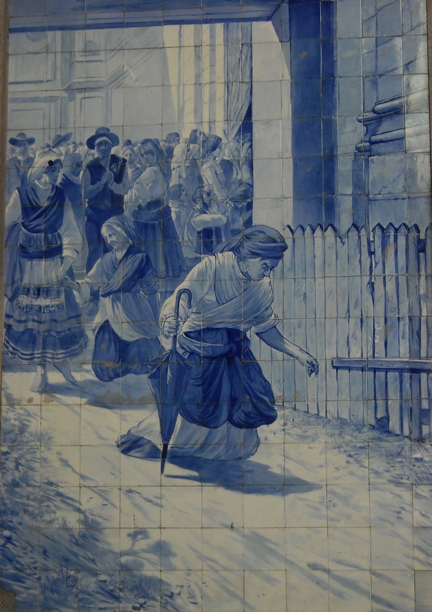 Sao Bento - Azulejo - vie quotidienne