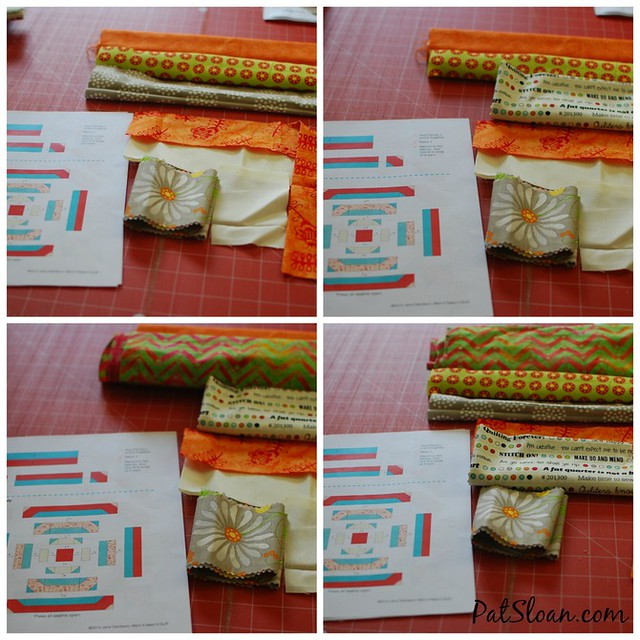 Pat Sloan Oct Aurifil block audition