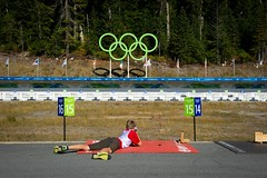 Summer biathlon series at Whistler Olympic Park