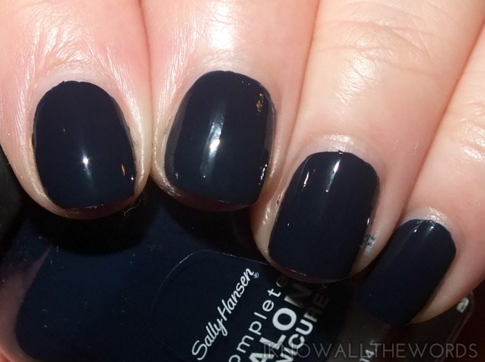 sally hansen complete salon manicure fall 2014- dark huemoor