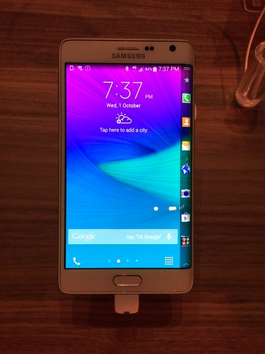 Samsung Galaxy Note 4 World Tour 2014 Singapore - Note Edge
