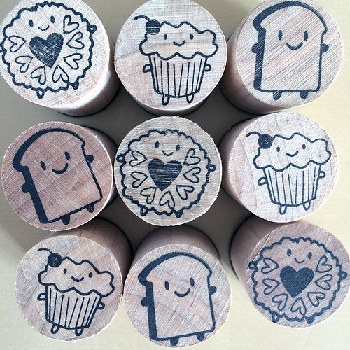 Cakeify & Friends polymer stamps