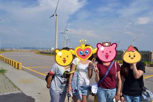 台中彩虹眷村+高美濕地觀光景點自由行-台灣嬉遊記包車車隊 (20)