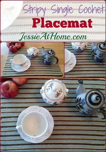 Stripy-Single-Crochet-Placemat-Pinterest