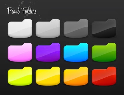 Pearl Folder Icons