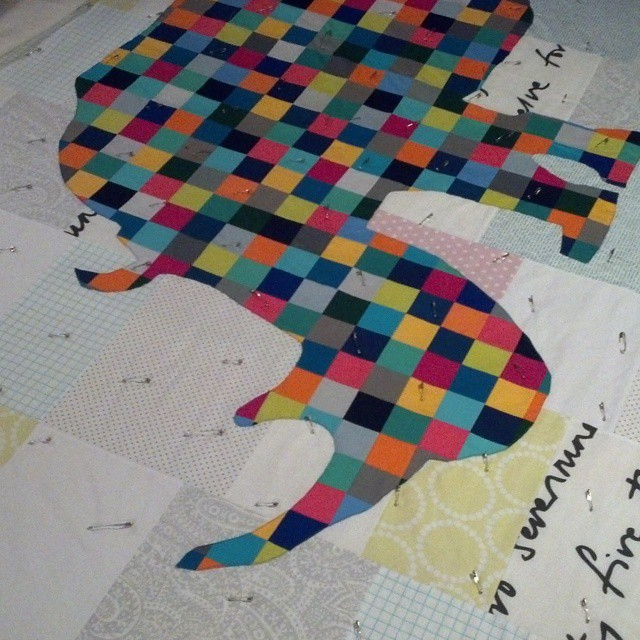 All pinned. #rhinoquilt