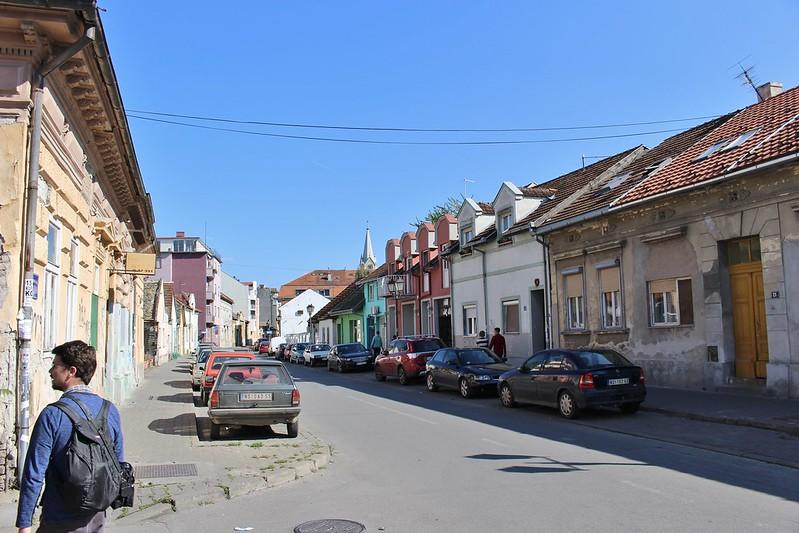 Novi Sad street