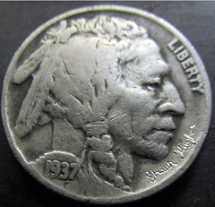 Hobo Nickel His Only Friend obverse