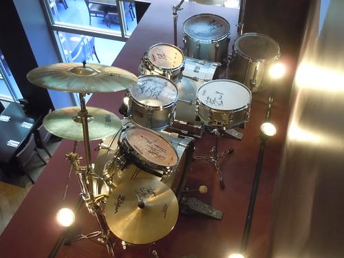 10/03/14 Hard Rock Cafe @ Mall of America, Bloomington, MN (Scott Travis/ Judas Priest Drum Kit)