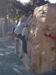 Rock climbing by Guzilla