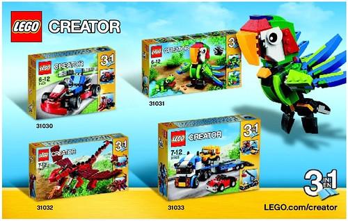 LEGO Creator 2015