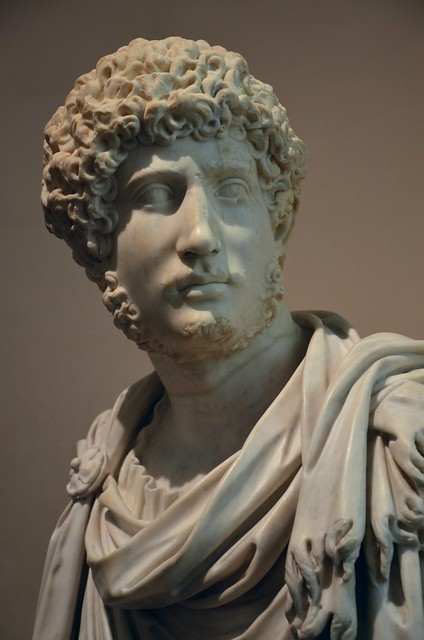 Idealised portrait of Hadrian as a young man, 136 AD, Museo Nacional del Prado, Madrid