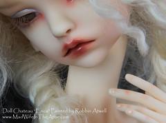 """Doll Chateau """"Erica"""" painted by Robbin Atwell (www.MadWifeInTheAttic.com)"""