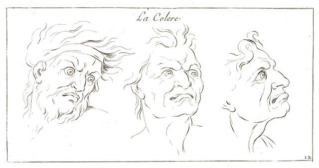La colère - Sébastien Le Clerc (1637-1714), graveur du Roi [HH_98_03]