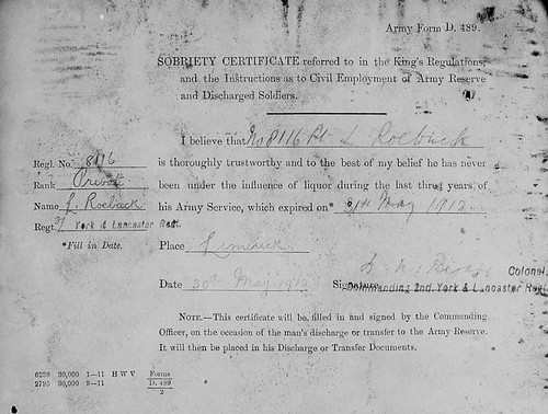 7 Larrett's 'sobriety certificate'