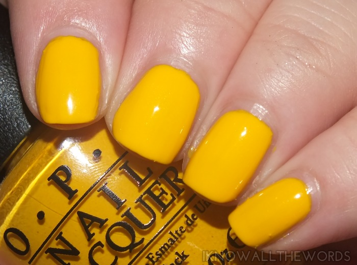 Peanuts by OPI - Good Grief!