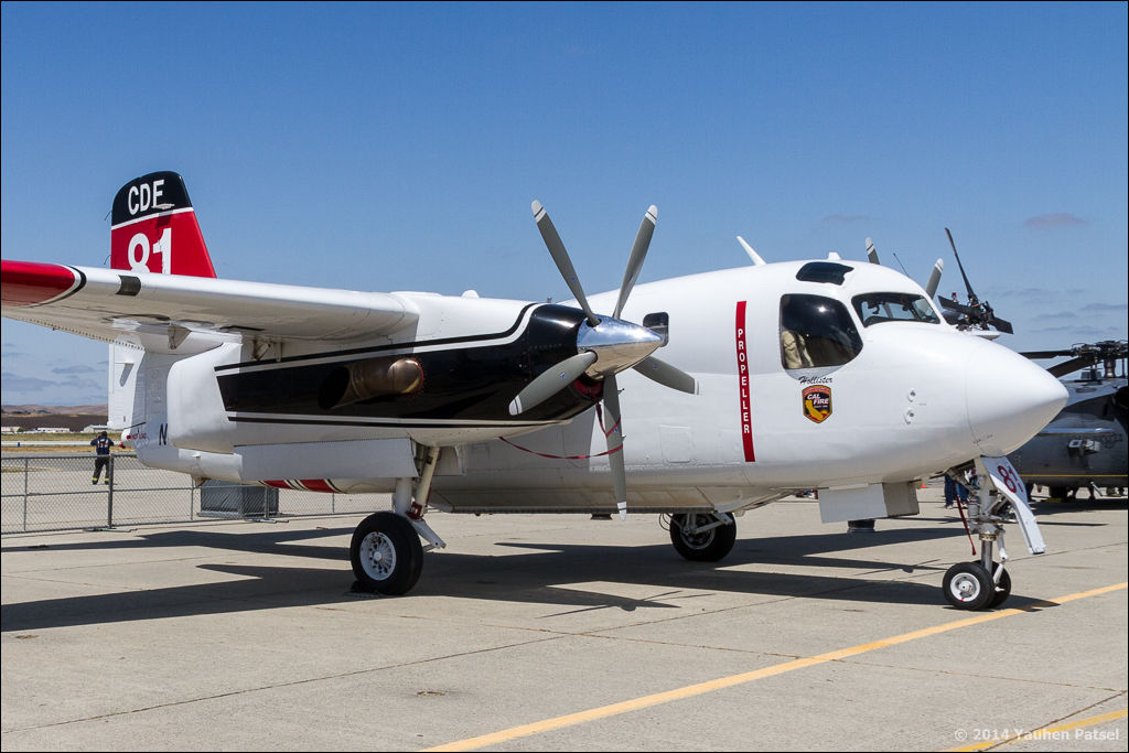 Grumman S-2T, N449DF