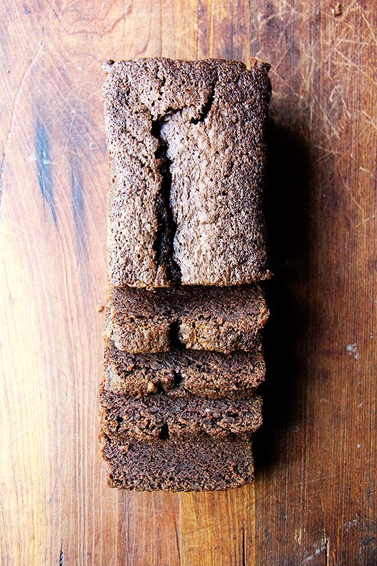 Nigella Lawson S Dense Chocolate Loaf Cake With Booze And