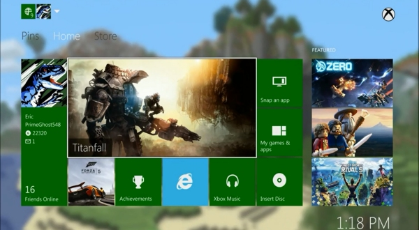 Xbox One Custom Theme