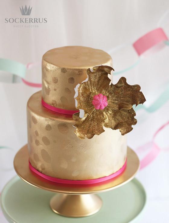 Guldtårta