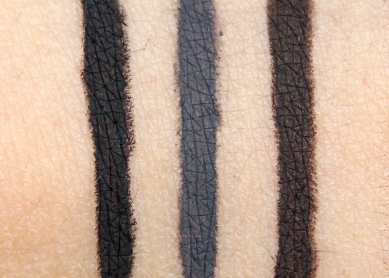 IsaDora Smoky eye liner swatch