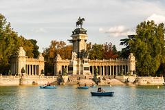 Monumento a Alfonso XII, El Retiro, Madrid