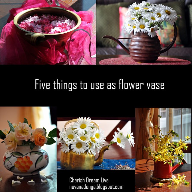Cherish Dream Live 5 Things To Use As Flower Vase This Diwali
