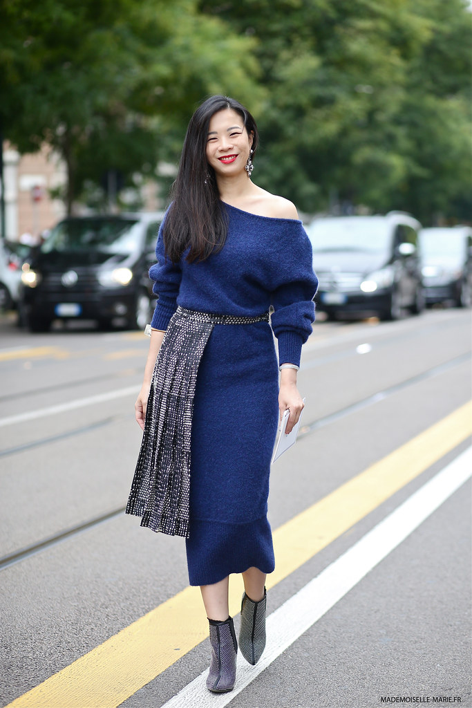 Yu Lee at Milan fashion week