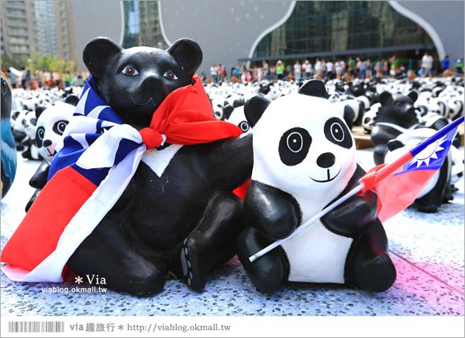 【台中】大都會歌劇院~可愛紙熊貓大軍來襲!台中七期的新亮點!7