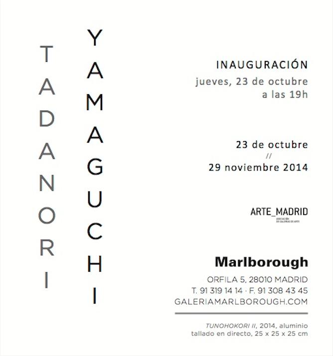 Tadanori Yamaguchi en Marlborough