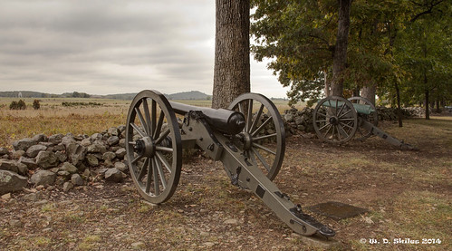 cannon on the Gettysburg Battlefield