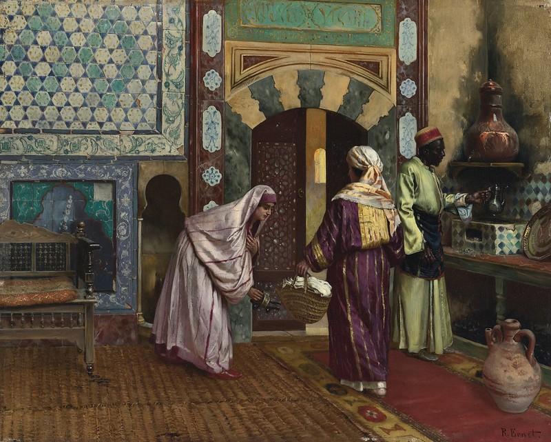 Rudolf Ernst - The Hammam
