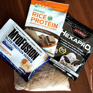 Protein samples and oats