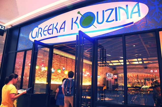 Greeka Kouzina at SM Aura