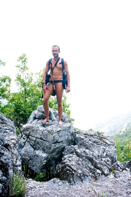 naturist 0005 E4 trail, Mount Olympus, Greece