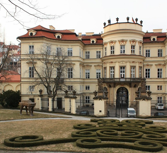 Palais Lobkowicz, German Embassy, Prague, fotoeins.com