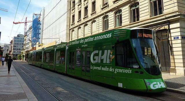 Geneve, tramway