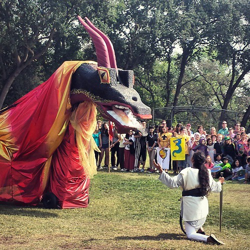 Michaelmas at school #sacramentowaldorfschool  #waldorf #festivals #holiday #community #dragon