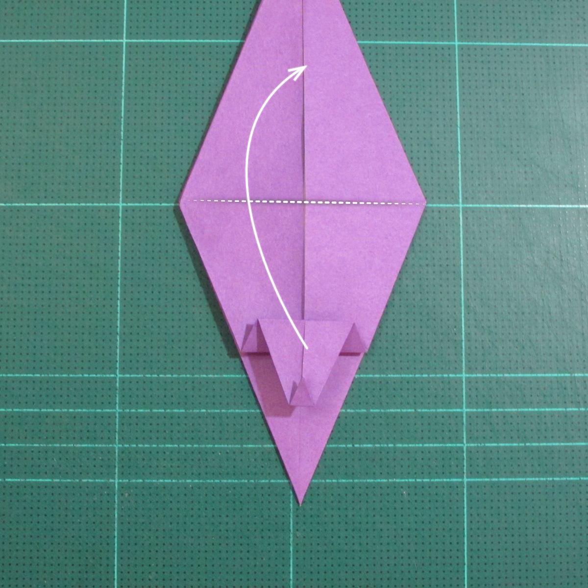 วิธีพับกระดาษเป็นรูปเต่าแบบง่าย (Easy Origami Turtle) 011