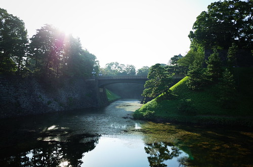 Near the Imperial Palace
