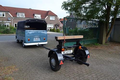 BE-64-01 Volkswagen Transporter Enkelcabine 1963