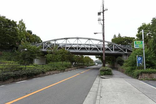 緑地西橋 大阪市内に保存されたボーストリングトラス|轍のあった道
